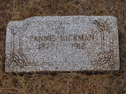 Fannie C. <i>Ashley</i> Hickman