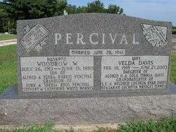 Velda <i>Davis</i> Percival