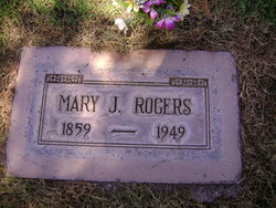 Mary Jane <i>York</i> Rogers