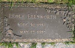 Leola <i>Bowden</i> Ellsworth