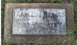 Frances Isabelle <i>Rhodes</i> Thomas