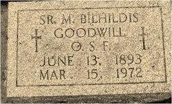 Sr Mabel Bilhildis Goodwill