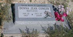Donna Jean <i>Bayless</i> Conger