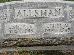 Ethel Mabel <i>Richardson</i> Allsman