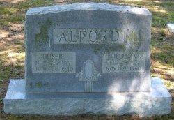 Gussie <i>Alford</i> Alford