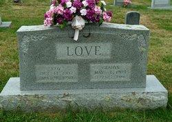 Gladys Mary <i>Hodges</i> Love