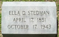 Ella D. Stedman