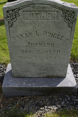 Sarah L. <i>Johnson</i> Quigley