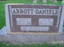 Iva B. <i>Abbott</i> Daniels