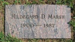 Hildegasrd D. Marsh