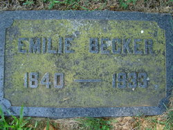 Emilie <i>Brenneman</i> Becker