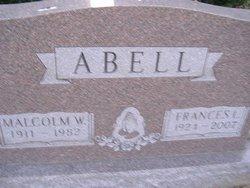 Frances L. <i>Claybrook</i> Abell