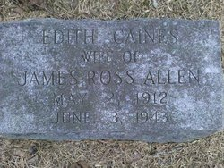 Edith <i>Caines</i> Allen