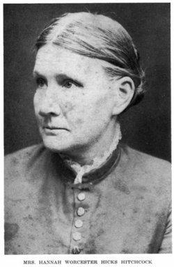 Hannah <i>Worcester</i> Hitchcock