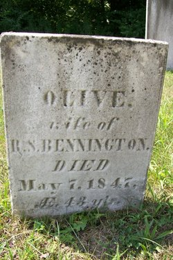 Olive <i>Samson</i> Bennington