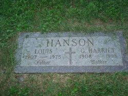G Harriet Hanson