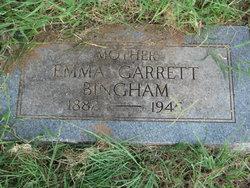 Emma <i>Garrett</i> Bingham