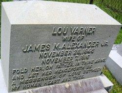 Lou <i>Varner</i> Alexander