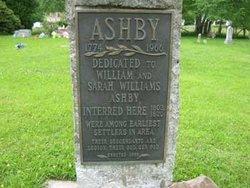 Sarah <i>Williams</i> Ashby