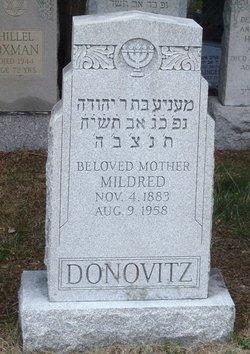 Mildred Millie <i>Saffron</i> Donowitz