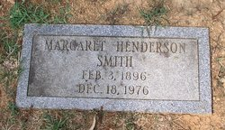 Margaret Naomi <i>Henderson</i> Smith