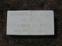 Barbara Ann <i>Ball</i> Gallagher