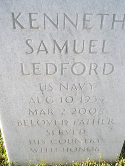 Kenneth Samuel Kenny Ledford