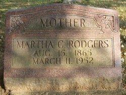 Martha Caroline <i>Davenport</i> Rodgers