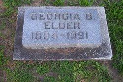 Georgia B. <i>Berry</i> Elder