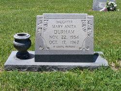 Mary Anita Durham