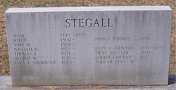 Louisa <i>Vincent</i> Stegall
