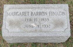 Margaret Ann <i>Barron</i> Finagin
