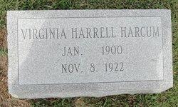 Virginia Masie <i>Harrell</i> Harcum