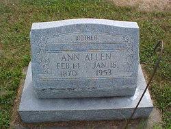 Ann <i>Keller</i> Allen