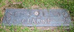 Mary Frances <i>White</i> Clarke