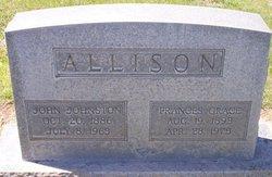 Frances Grace <i>Withrow</i> Allison