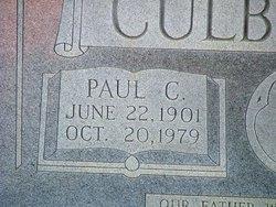 Paul Crosby Culbertson