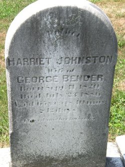 Harriet <i>Johnston</i> Bender