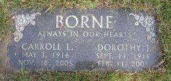 Dorothy Jane <i>Carpenter</i> Borne