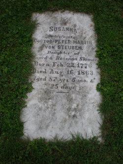 Susanna <i>Shimer</i> von Steuben
