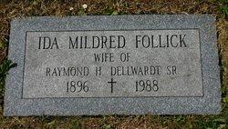 Ida Mildred <i>Follick</i> Dellwardt
