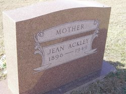 Oral Jean <i>Wollam</i> Ackley