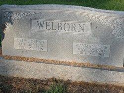 Wayman L Welborn, Sr
