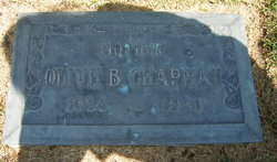 Olive Blanche <i>Hatch</i> Chapman