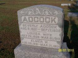 Louisa <i>Eads</i> Adcock
