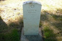 Leon W Adams