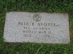 Paul E Ayotte