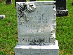 Sarah <i>Cobb</i> Bramble
