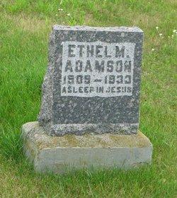 Ethel Marian Adamson
