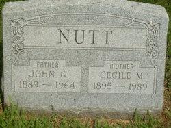 Cecile M. <i>Woodruff</i> Nutt